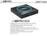 I98 PROAndroid 7.1.2 Fernsehapparat-Kasten mit Amlogic S905X Chips 2GB RAM/16GB ROM-Support 2.4GHz WiFi, 4K HD