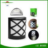 6 СВЕТОДИОДНЫЙ ИНДИКАТОР для использования вне помещений декоративные лампы в альбомной ориентации датчика солнечного света на стене