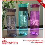 Commerce de gros logo personnalisé de remise en forme de promotion du sport de l'eau potable bouteille en plastique