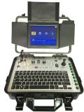 Camera van de Inspectie van de Pijp van het Riool van het Afvoerkanaal van de Schuine stand van kabeltelevisie van Vicam de Pan voor Verkoop