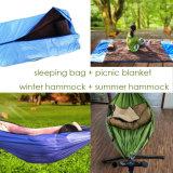 Многофункциональная съемные гамак, спальный мешок + зимние гамак + летние гамак + Одеяло пикника