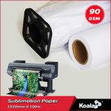 Mayorista de fábrica Premium 60g - 120g de sublimación de tinta de secado rápido el papel de transferencia