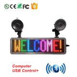 Tela de LED de cor total P4.75-16X64 S-aplicativo Bluetooth RGB LED de controle da placa de deslocamento de mensagem e rebentos a vários idiomas
