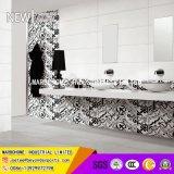 建築材料の艶をかけられた内部の陶磁器の光沢のある壁のタイル300*800mmの花のタイル