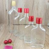 120ml 200ml 350ml 500ml flaches Glas-Wein-Flaschen-Kolben-Glaswhisky-Alkohol-Flasche