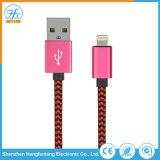 Cavo elettrico personalizzato del caricatore del lampo di dati del USB per il iPhone