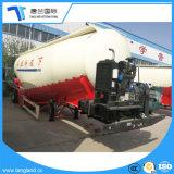 세 배 차축 시멘트 유조선 반 50 T 최신 판매에 있는 건조한 시멘트 트레일러