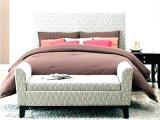 Ensemble de la chambre à coucher Mobilier de stockage de l'hôtel vente tissu ottoman Tabouret