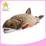 سمك القط التفاعلي محشو الجمة العطاس الطبيعي المملوء بالأسكنية سمك وثير ناعم