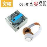 Écouteur sans fil de Bluetooth de sport blanc du Li-ion 3.7V