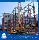 Пакгауз рамки стальной структуры конструкции конструкции полуфабрикат