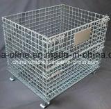 Recipiente dobrado do engranzamento de fio do armazenamento (1200*1000*890)