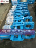 Slurry pneumatico Knife Gate Valve con Blue Color