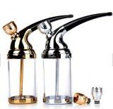 Filtro de fumar Conjunto de tubos de água, tabuleiro trifásico de cigarro, tubo de água multifuncional