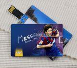 최고 판매인 플라스틱 USB 카드 질 선전용 선물 100%년 USB