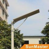 60W tutto in un indicatore luminoso di via solare con il sensore