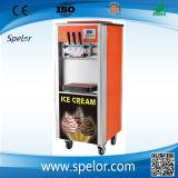 Máquina del arco iris del helado con jarabe de Dos Tipos
