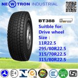 Preiswertes Bt388 315/70r22.5 Radial Truck Tyre für Drive Wheels