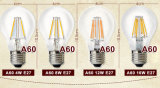 Lampe à filament d'A60 5-6W E27/B22