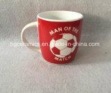 copo de café 12oz, caneca cerâmica para o clube do futebol