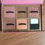 Escova de pó com cores de 9 cores Cómoda escova de limpeza de uñas redonda útil Escova de maquiagem para rosto