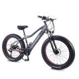 26-дюймовый жир шины складной велосипед с электроприводом города встроенный привод с литиевой батареей