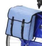 袋(SH-TR138)が付いている28inch青い鋼鉄バイクか自転車