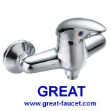 Solo grifo de la ducha de la palanca del cuarto de baño contemporáneo