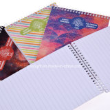 B6 Custom Printing Carton Cover Spiral Notebook