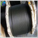 Haut Ungalvanized corde de fils en acier au carbone