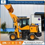 Automatic 4X4 Articulated 1.2ton Mini Wheel Loader with Various Attachments