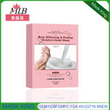 Atacado Whitening Moirsturizing Baby Hand Shin Care Whitening Glove Mask Manufactor
