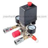 Un/compresseur à air à quatre voies du contacteur de commande de pression