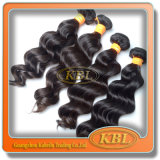 Qualité desserrée de modèle d'onde de cheveux indiens