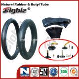 Três Rodas de borracha natural tubo interno do motociclo 300-18