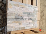 Wall를 위한 목제 Yellow Quartzite/Slate Culture Stone