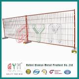 Ограждать загородки PVC Coated Канады временно/случая конструкции временно