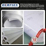 Resistir ao fogo laminado de PVC revestido Flex Material DE TOLDO