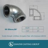 Raccords de tuyaux en fer malléables à haute qualité