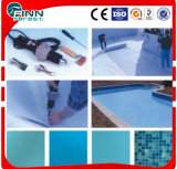 1.2mm 1.5mm 2.0mm Stärke Belüftung-Pool-Film für Swimmingpool oder Teich-Pool