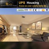 Casa prefabricada larga del tiempo de servicio 100m2 de la sala de clase del apartamento de China