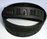 Vendas quente bracelete em borracha de silicone aduaneira para presentes