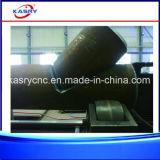 Machine de découpage automatique de plasma de commande numérique par ordinateur de feuille de fer pour la pipe d'acier du carbone et la pipe d'acier inoxydable