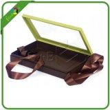 Caliente venta fantasía claro plástico bisagras tapa cajas de chocolate