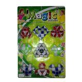 De Plastic Kubus van de bevordering de Transformeerbare Magische Heerser van 48 Sectie (10142122)