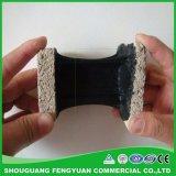 De qualité enduit de imperméabilisation d'asphalte bitumeux de Corriger-Caoutchouc non