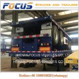De op zwaar werk berekende Flatbed Aanhangwagen van de Verschepende Container van de Aanhangwagen van de Lading