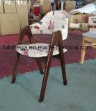 Présidence de restaurant tapissée par bâti en bois (FOH-XM90-222)