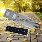 30W tous dans une rue lumière solaire intégré pour l'extérieur