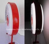 屋外のプラスチック形成二重側面の高品質の屋外のライトボックスの印